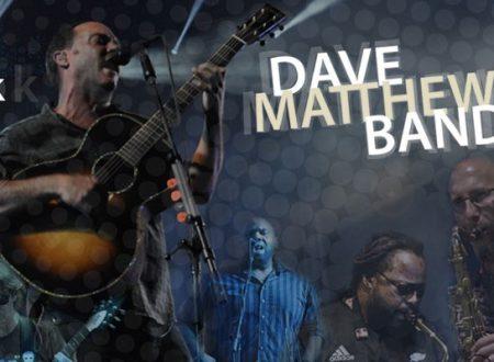 La Dave Matthews Band arriva in Italia