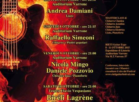 Rieti Guitar Festival